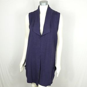 Coldwater Creek Long Sweater Vest